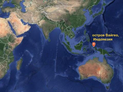 Британский корабль протаранил один из красивейших рифов мира