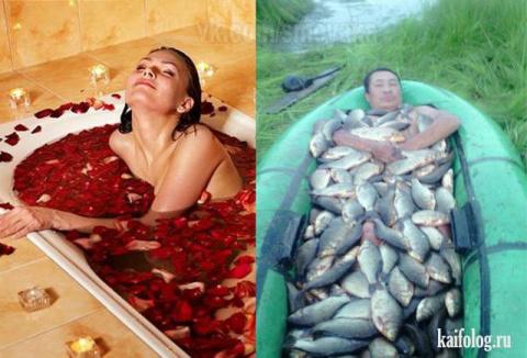 Приколы про рыбаков и рыбалку