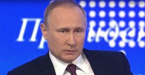Путин прокомментировал взрыв…