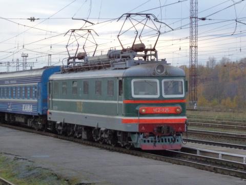 Поезд в Кизеле