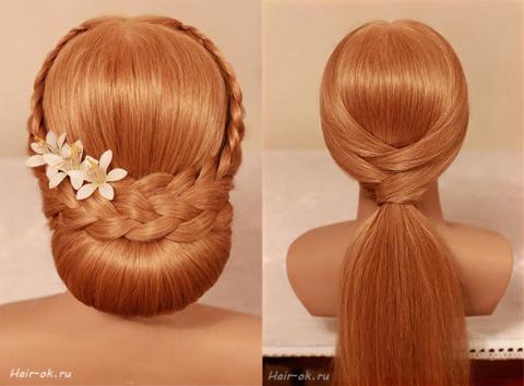 Плетём косы. Причёски для длинных волос