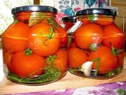 Обалденные помидоры в загадо…