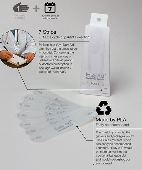 Лейкопластырь, который можно наклеить с помощью только одной руки