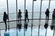 В самом высоком здании Китая…