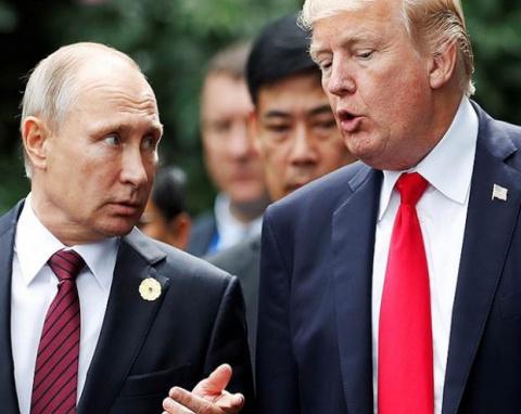 Трамп позвонил Путину поблаг…