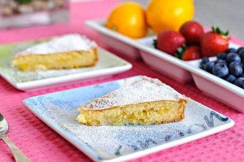 Лимонный пирог - очень вкусн…