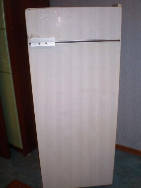 Преображение старого холодильника