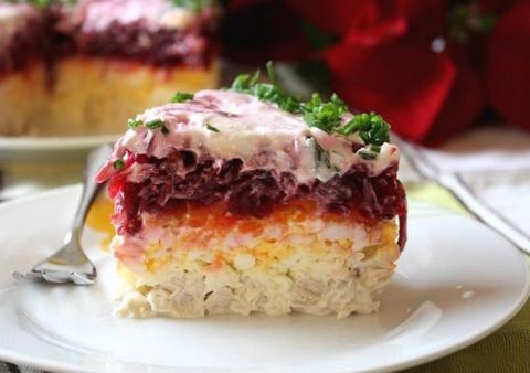 Свекольный салат «Генерал». …