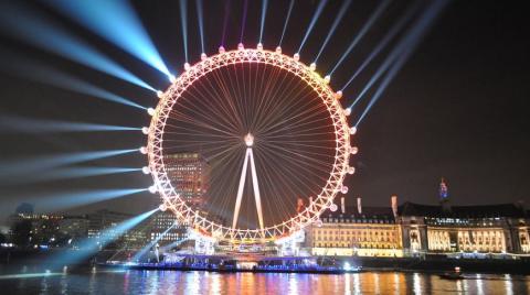 London Eye – Лондонский Глаз…