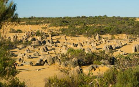 Пинаклс: пустыня остроконечн…