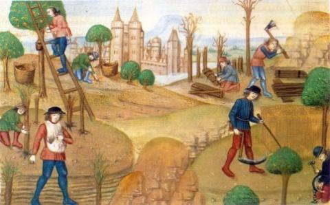 На каком языке говорила Западная Европа в XI-XV веках?