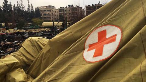 Возмездие за госпиталь в Алеппо.