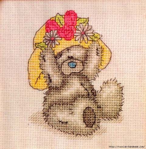 """Мишки """"Тэдди"""" схемы вышивки"""