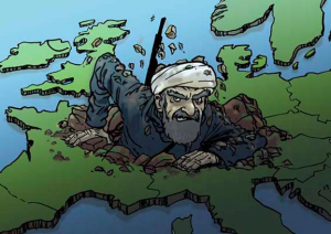 Массовый террор в Европе