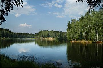 Река Вондига – Торбеево озеро – Сергиев Посад: