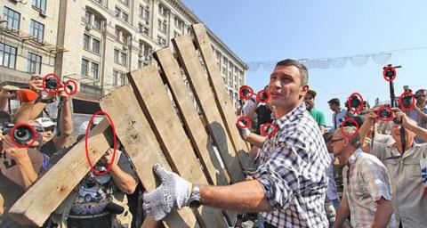 Виталий Кличко, а не там где ты сидишь