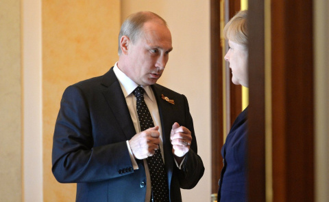 Ангела Меркель предъявила ультиматум Путину