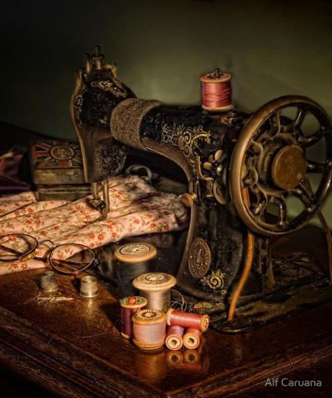 В коллекцию для декупажа швейные аксессуары