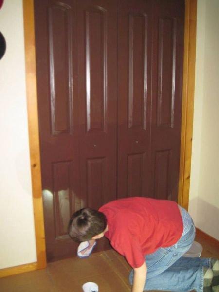 Из обычной двери — в произве…