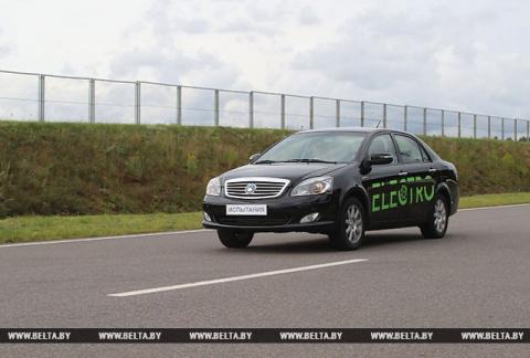 Белоруссия представила собственный электромобиль