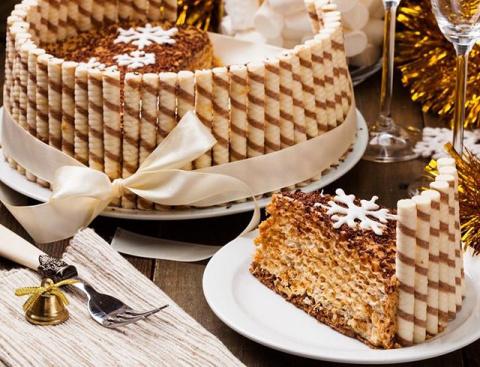 Три домашних торта к новогод…