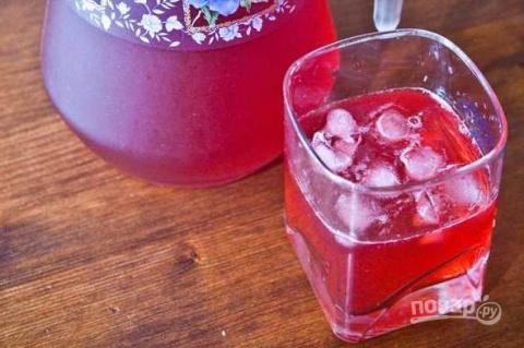 Безалкогольные напитки. Морс из замороженных ягод