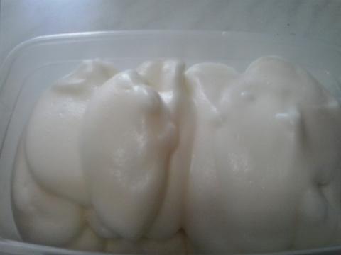 Постное мороженное - веганское