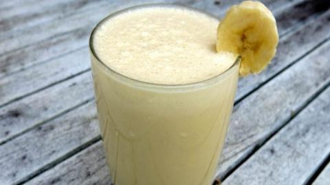 Банановый напиток сожжет жир