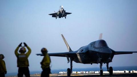 Истребители США открыли огон…