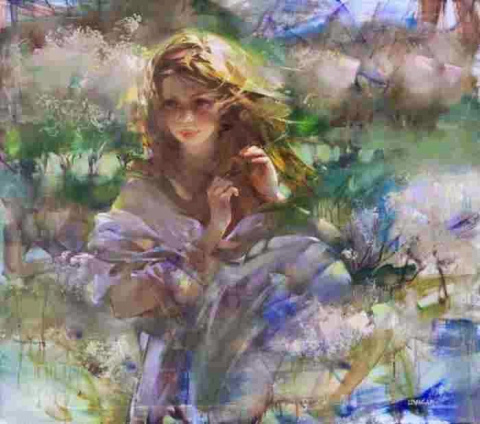 Женщина-цветок, Инна Цукахина