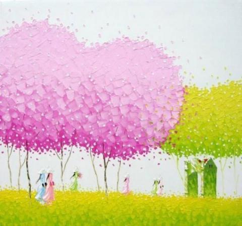 Красочные картины вьетнамского художника Phan Thu Trang