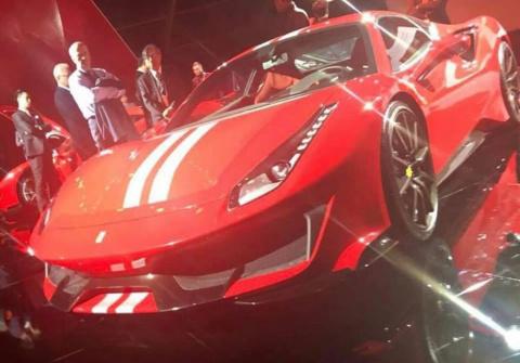 Самая мощная Ferrari с «вось…