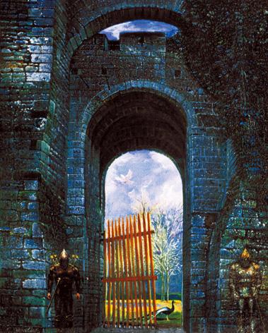 Забытые ворота в рай, охраняемые рыцарями