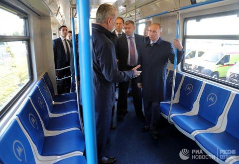 Путину в Ульяновске показали…