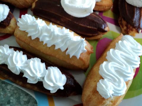 Белковый крем на пару и заварные пирожные сегодняшнего дня