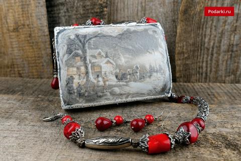 Шкатулка— новогодний подаро…