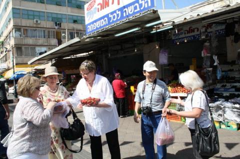 Натания Израиль рынок Валери Элит