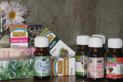 Эфирные масла при простудных…