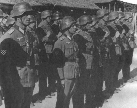 Что случилось под Сталинградом с хорватами воевавшими против СССР