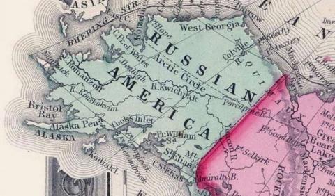Как русских с Аляски в Росси…