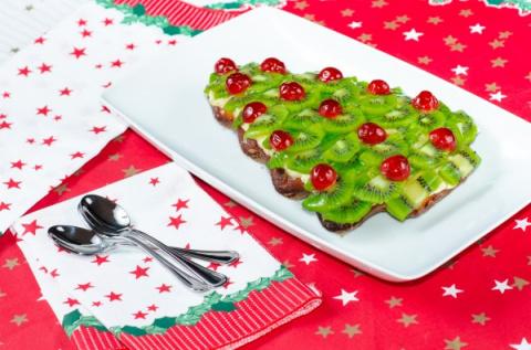 Рецепты на Новый год: Торт Елочка