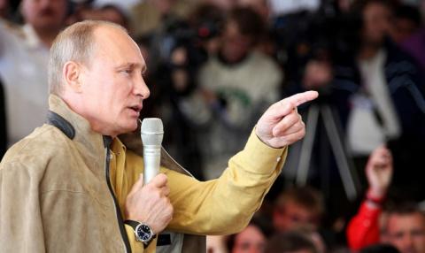Владимир Путин объяснил, почему он обратился к ополченцам
