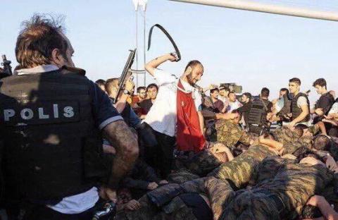 Турецкий военный переворот у…