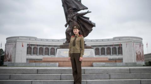 Женщины в армии КНДР