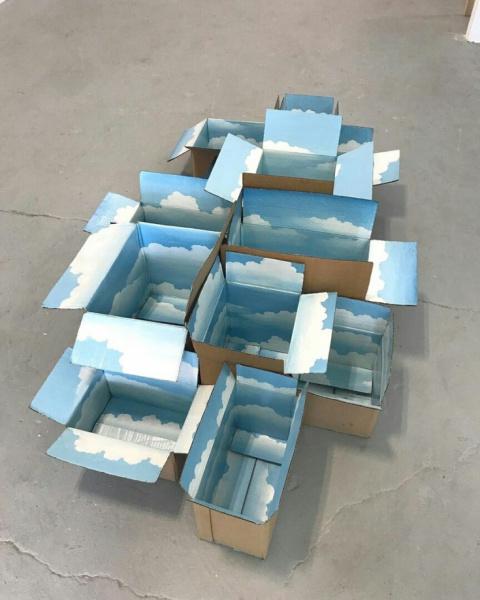 Небо в коробках