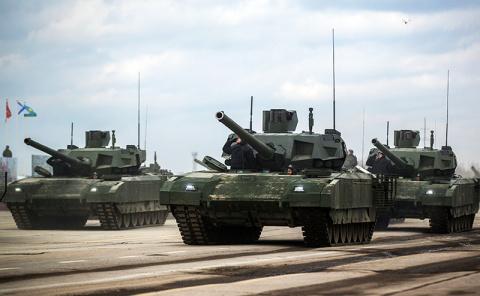 Киев ждет удара «ядерных танков Путина»