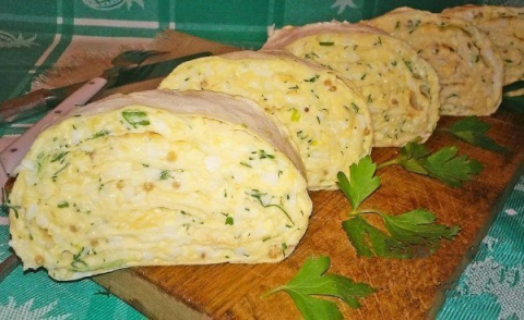 Закуска из лаваша с сыром