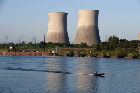 Атомная станция Уаттс Бар в Теннесси