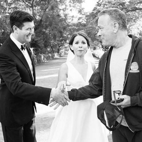 Том Хэнкс оказался на свадеб…