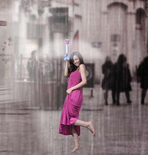 Зонтик, который никто не увидит